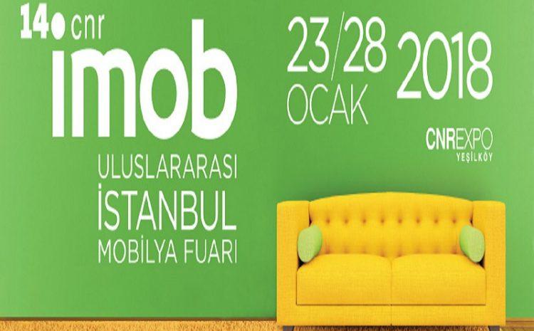 14. CNR İMOB Uluslararası İstanbul Mobilya Fuarı gerçekleşti.